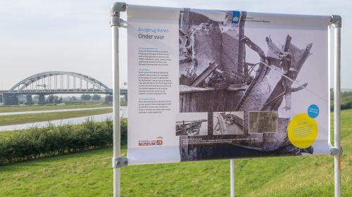Start buitenexpositie Boogbrug Vianen – Nieuwegein