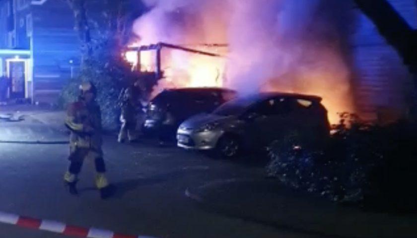 Brand in Fokkesteeg zorgt voor veel ravage