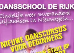 Eindelijk weer onveranderd Dansen in Stijl bij Dansschool De Rijk in Nieuwegein