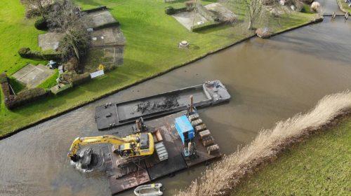 Update baggeren Gekanaliseerde Hollandsche IJssel