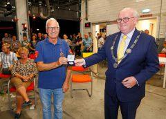 Gerard Koekman 50 jaar bij de vrijwillige brandweer nu Ereburger van Nieuwegein