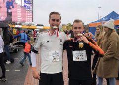Hockeyers Koen en Tim lopen marathon voor het goede doel