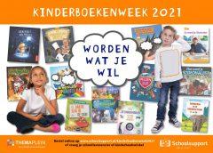 De 'Grote Worden Wat Je Wil Show' tijdens de Kinderboekenweek in de bieb