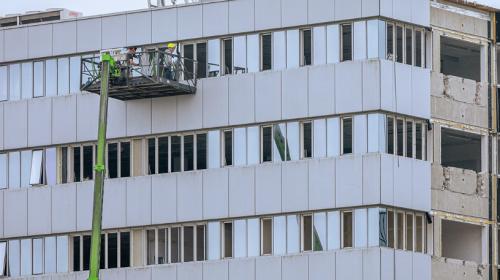 Veiligheidsmaatregelen aan de Zuidstedeweg vanwege sloop kantoorpanden