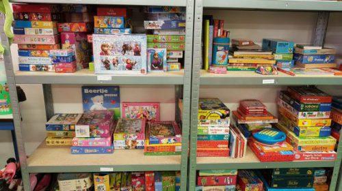 Sinterklaasactie bij de Speelgoedbank Nieuwegein