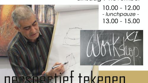 XL workshop 'Perspectief tekenen'