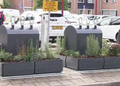 Vier containertuintjes initiatief van bewoners Rijtuigenbuurt