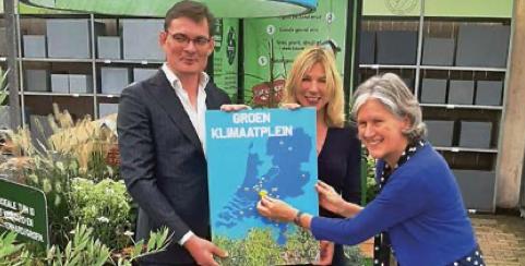 Groen Klimaatplein officieel geopend in Nieuwegein